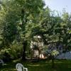 Huset bakom alla träd