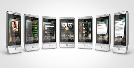 HTC Hero - 7 skärmar
