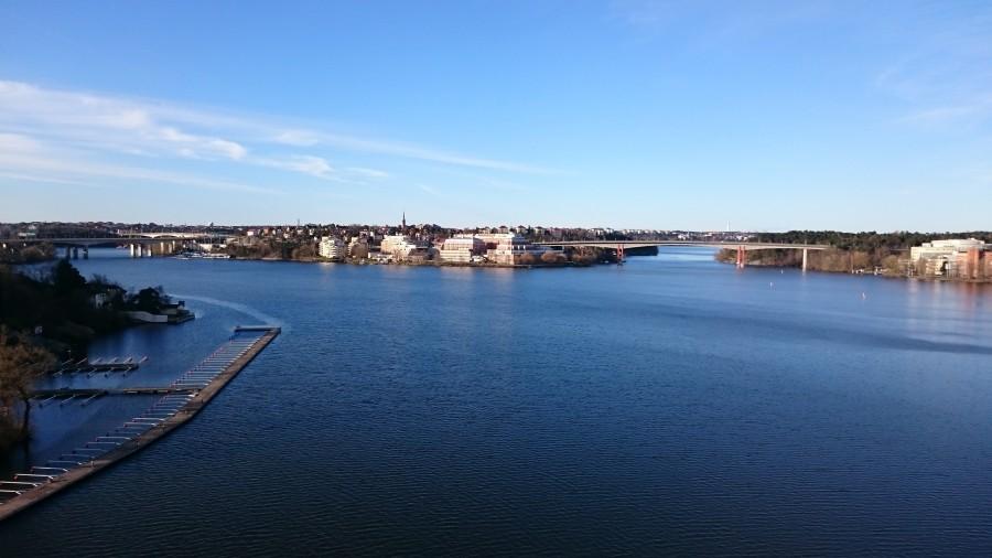 Tillbaka i Stockholm. 07:15 och en underbart fin morgon!