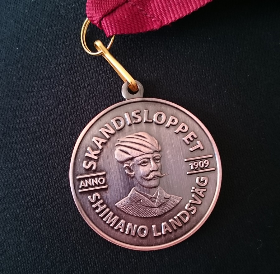 En medalj rikare!