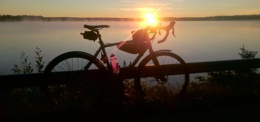 Soluppgång medelst cykling